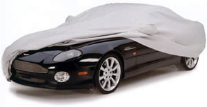 Noah Car Cover on Aston Martin Vanquish