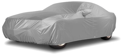 Gray Reflectect Car Cover - Dodge Charger